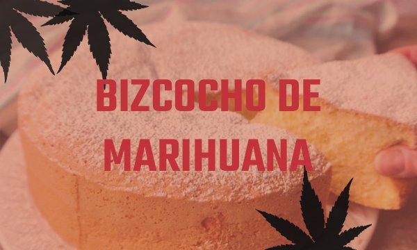 bizcocho de marihuana